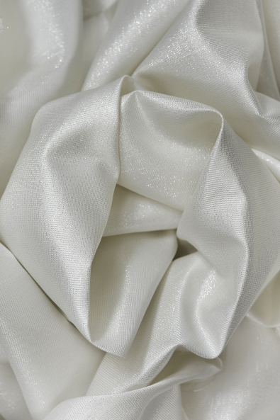 MEDIUM ORGANDY-TAFFETA SILVER YARN