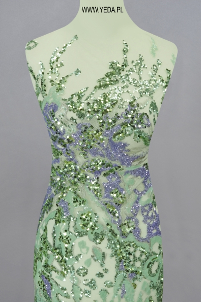 EVENING LACE VL1842203 GREEN/LILAC