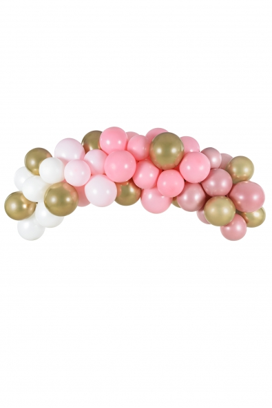 BALLOON GARLAND PINK