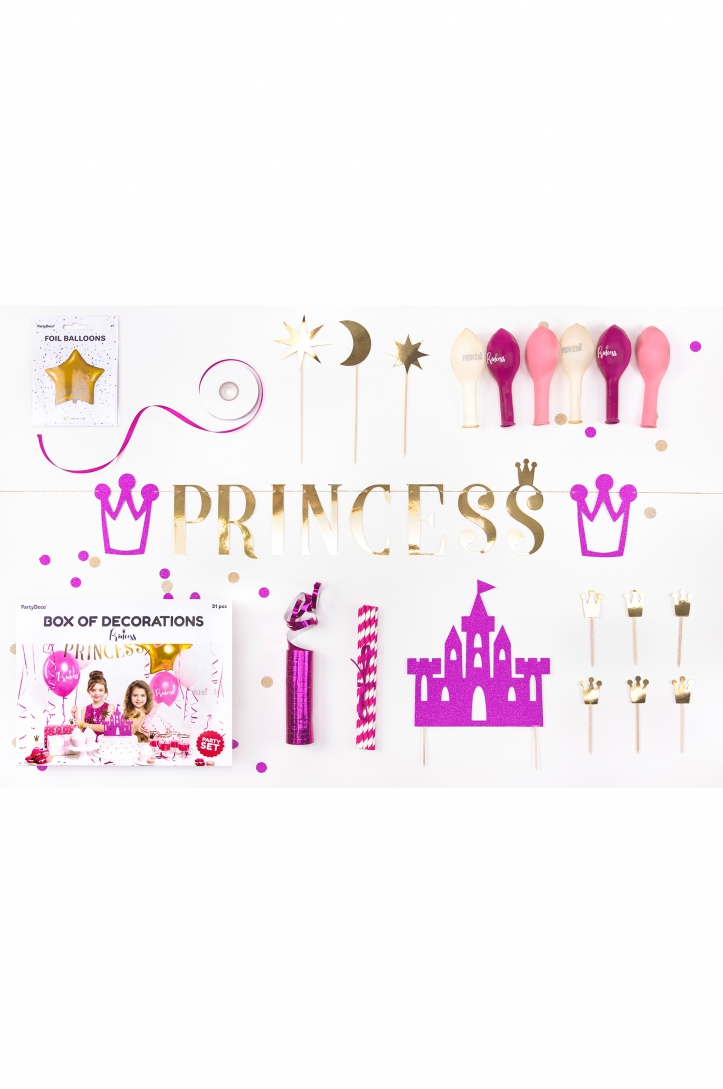 DECORATION SET PRINCESS