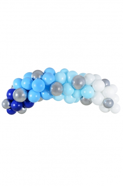 BALLOON GARLAND - BLUE